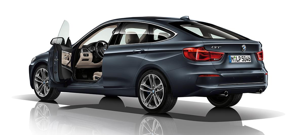 BMW 3-sarjan Gran Turismo : Mallit ja varusteet