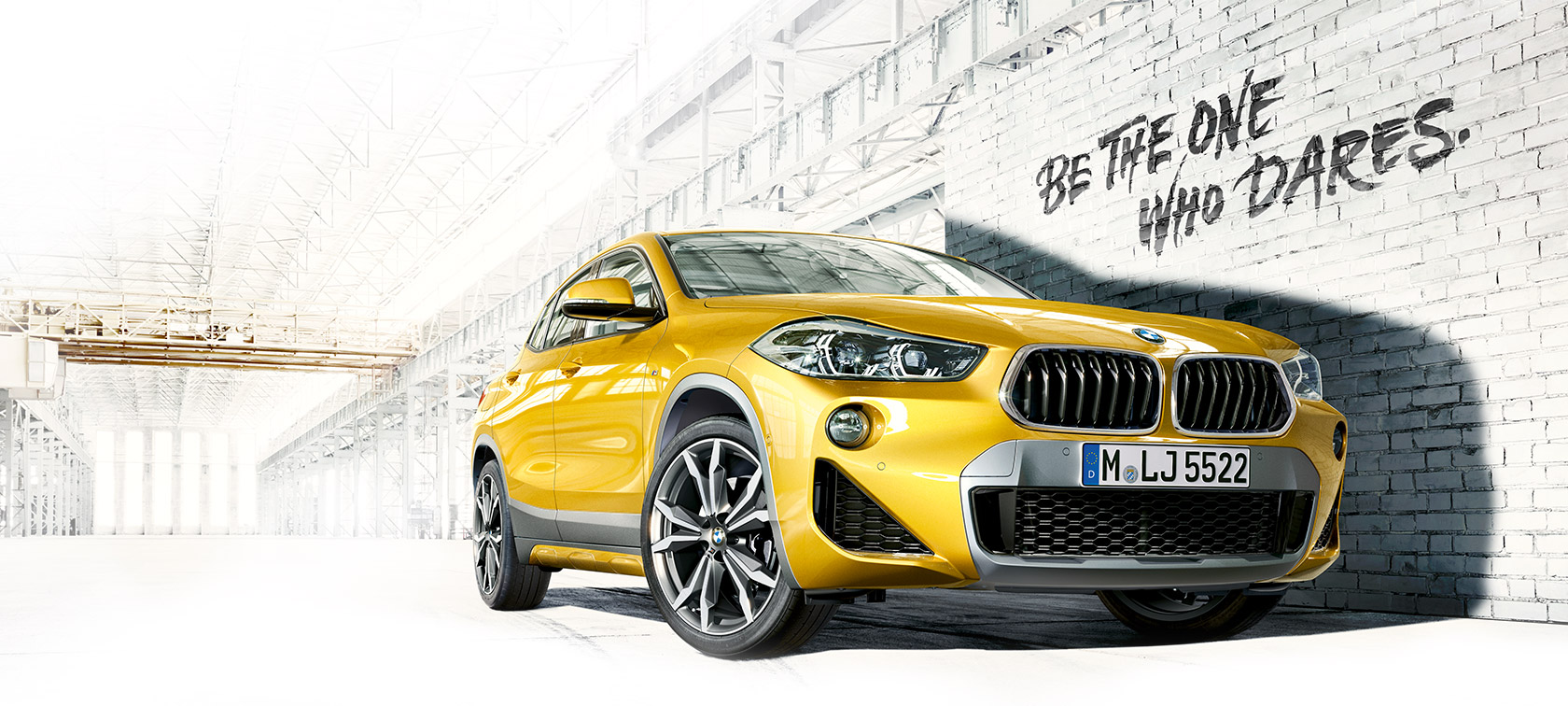 BMW X2 - Be the one who Dares